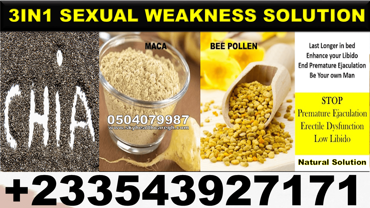 Natural Treatment for Sexual Weakness
