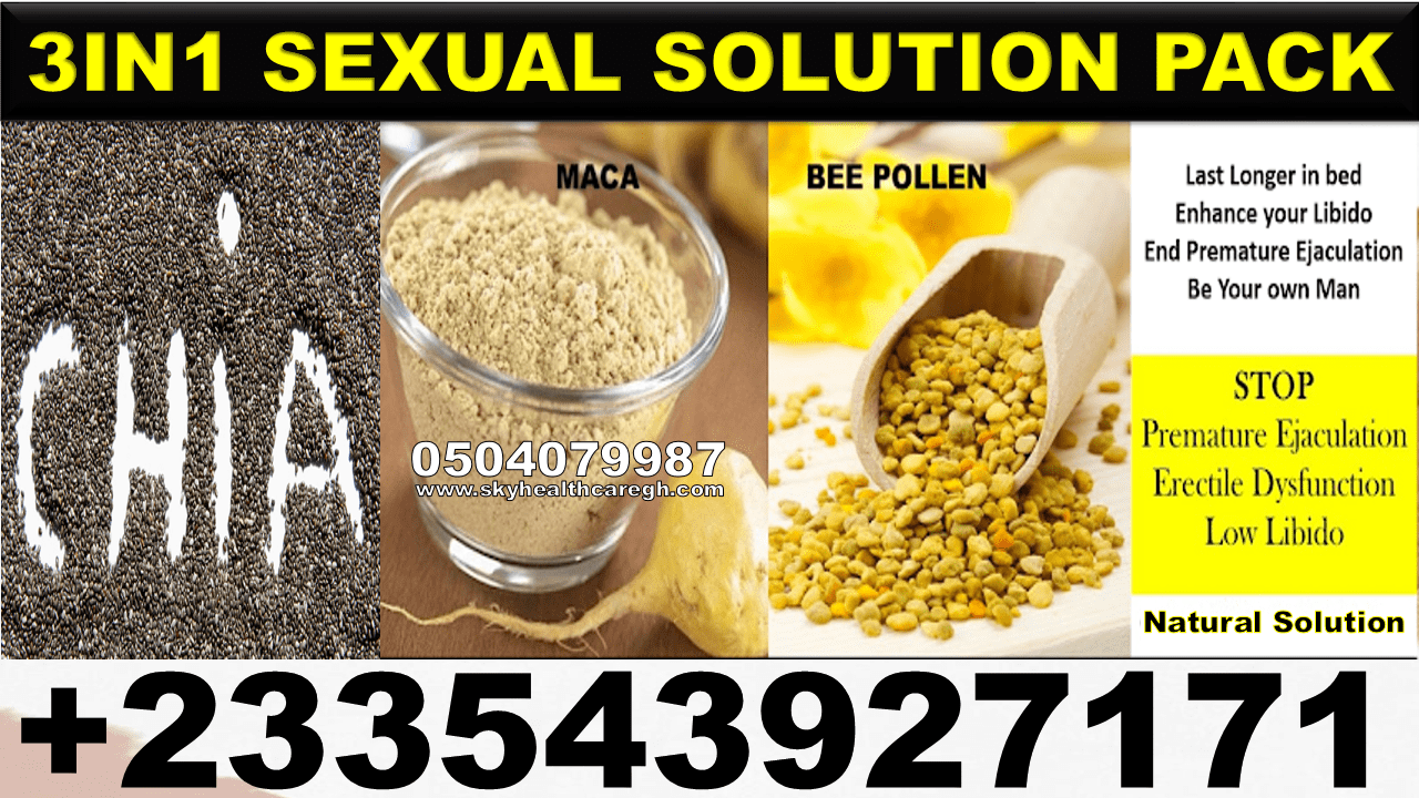 Natural Solution for Sexual Weakness