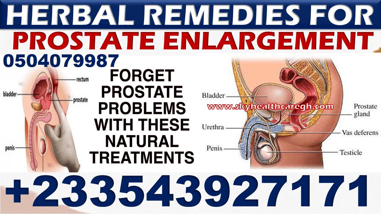 natural remedy for prostate enlargement