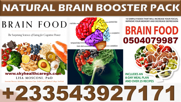 Brain(Memory) Booster Vitamins in Ghana