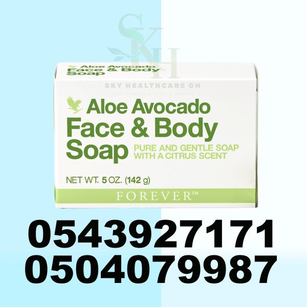 Forever Avocado Face & Body Soap in Tamale