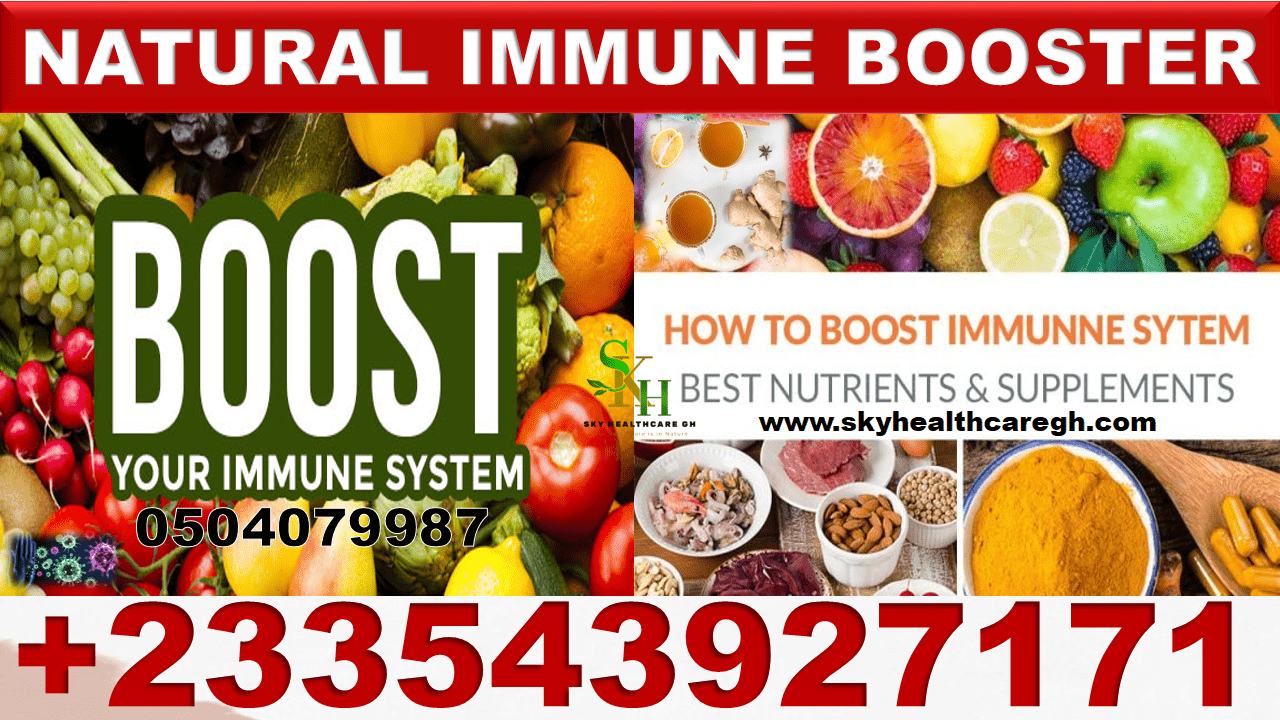 immune boosters in Ghana