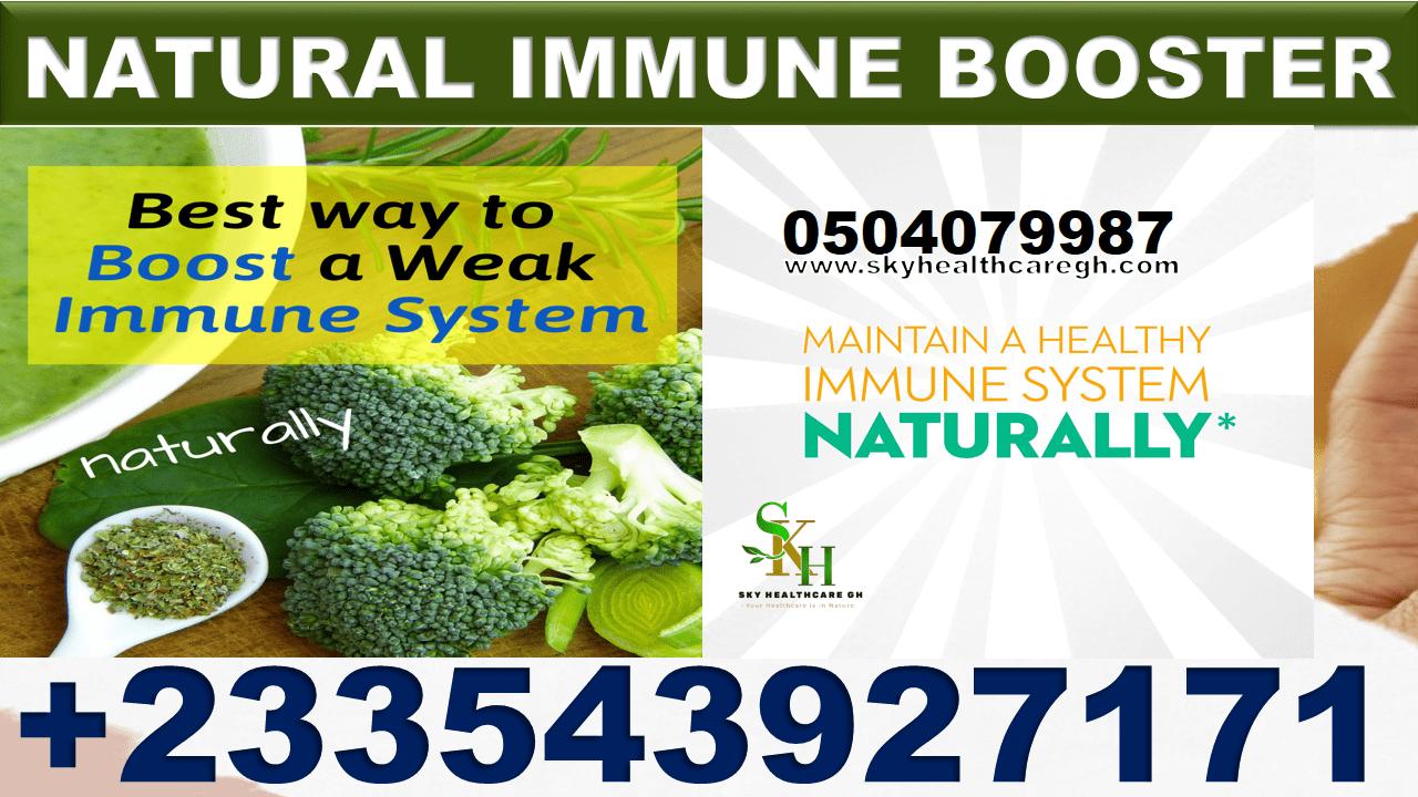 Best Immune Boosters in Ghana
