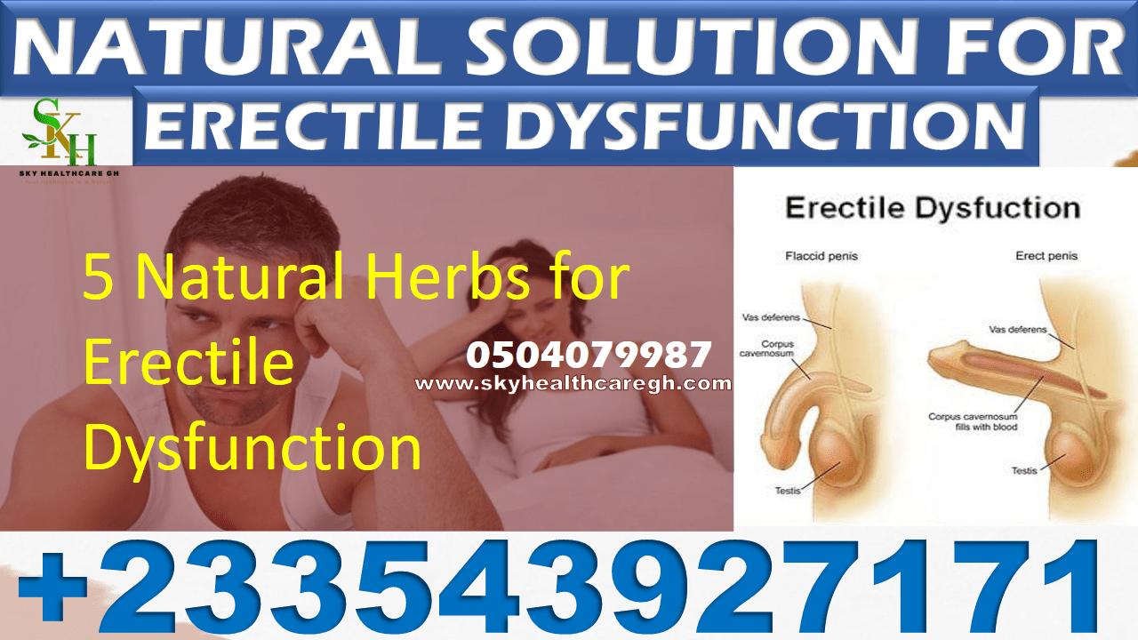 Weak Erection Natural Treatment