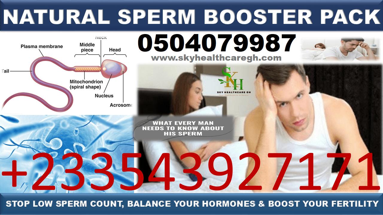 Natural Sperm Booster Pack