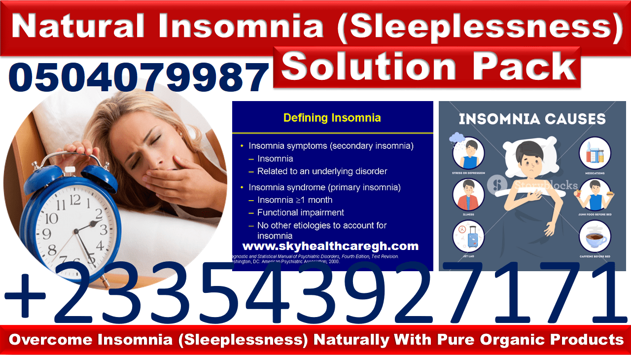 Insomnia and Stress Natural Solution Pack