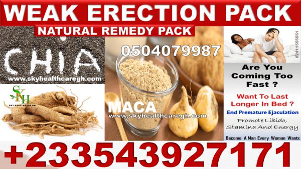 Natural Remedy for Weak Erection