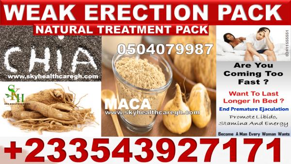 Natural Treatment for Weak Erection pack in Ghana