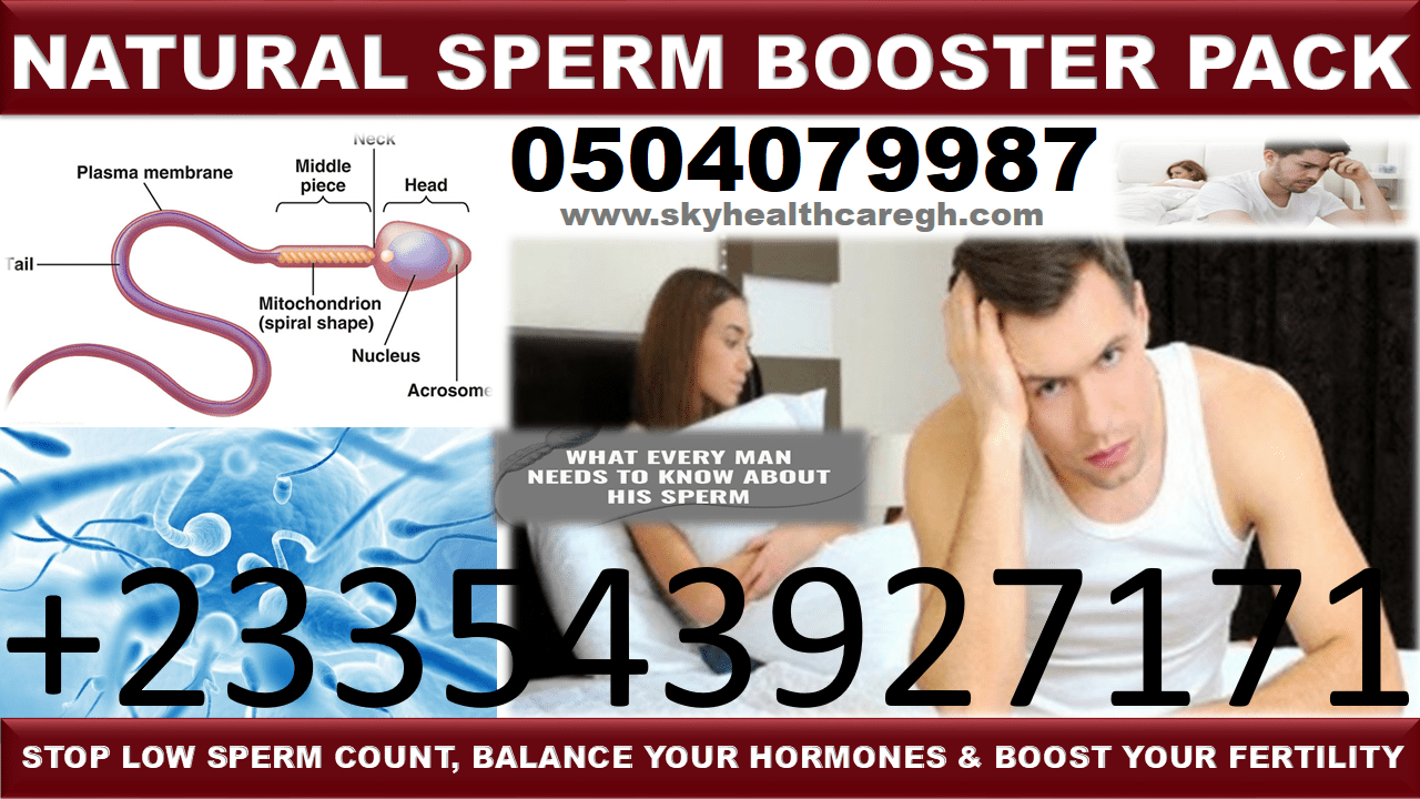 Natural Solution for Low Sperm Count