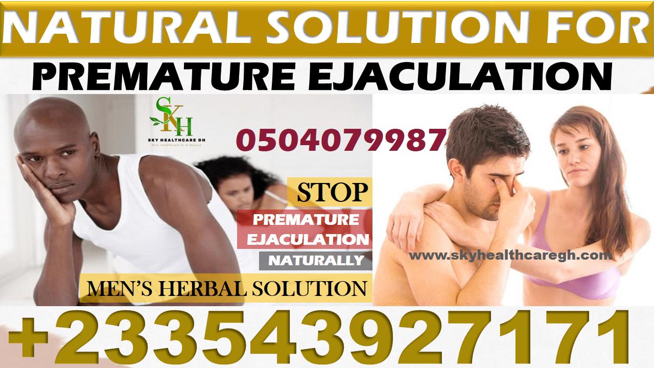 Natural Solution for Premature Ejaculation