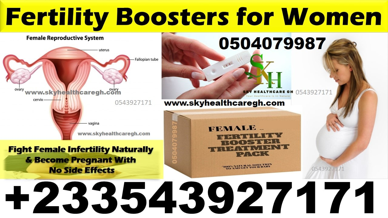 Women Fertility Booster Pack